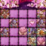桜の迷宮【極】夜桜祭りを周回中!明日のスキル上げが楽しみ