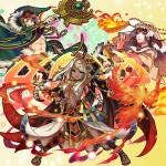 竃の神ウェスタ、起源のハルマ、聖炎の陽光のラー スキルアタック・パーティのリーダーを比較評価