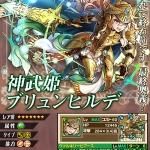 神武姫ブリュンヒルデの評価:高いパラメータと高回転かつバインド付きのスキル