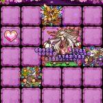 桜姫をリーダーにして影桜の迷宮【冥】桜吹雪の獣をクリア!ミッション報酬で光結晶GET!