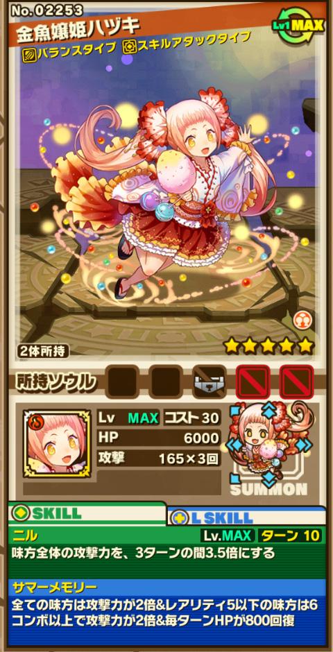 金魚嬢姫ハヅキ