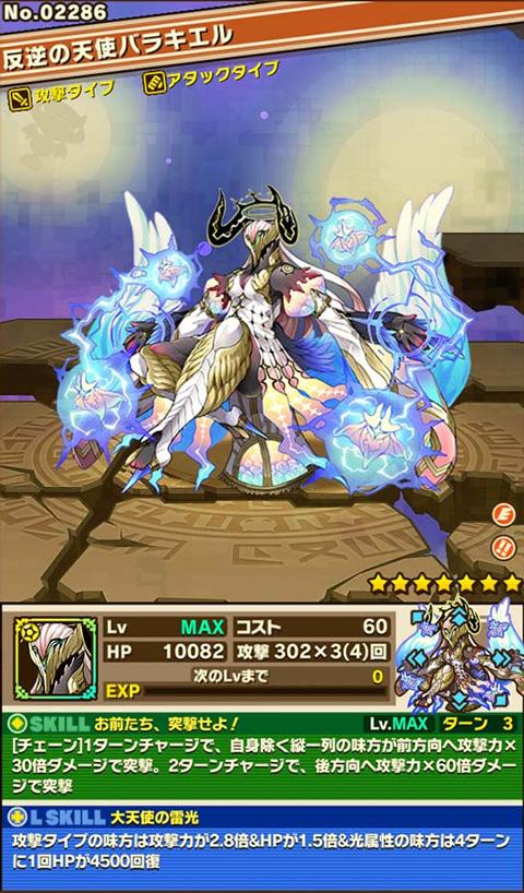 反逆の天使バラキエル
