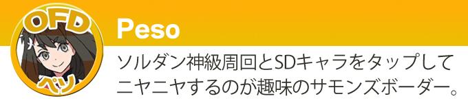 ライター紹介:ペソ