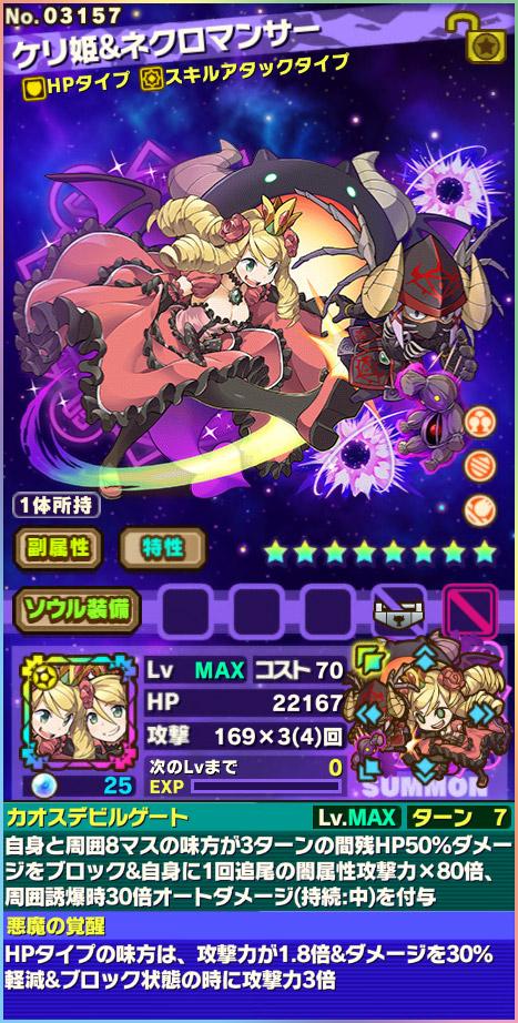 ケリ姫&ネクロマンサー