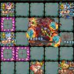 幻惑の魔域【神】炎の堕天使をエリクシアLのハートアップ4体編成で攻略!