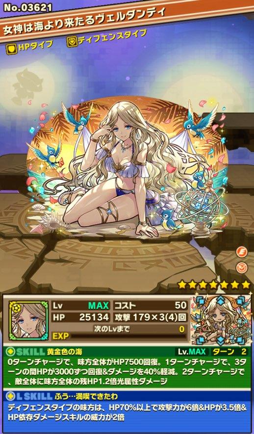 女神は海より来たるヴェルダンディの評価